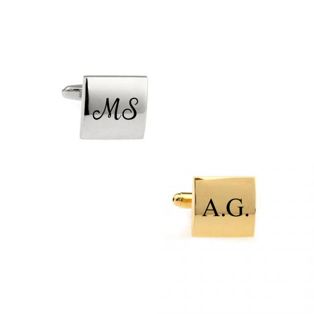 Select Gifts L /& P Cufflinks Optional Engraved Personalised Box